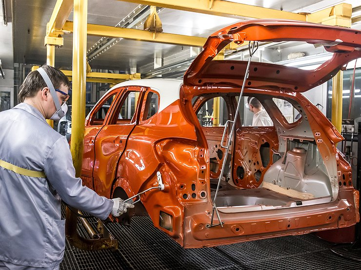 Московский завод Renault возобновил работу