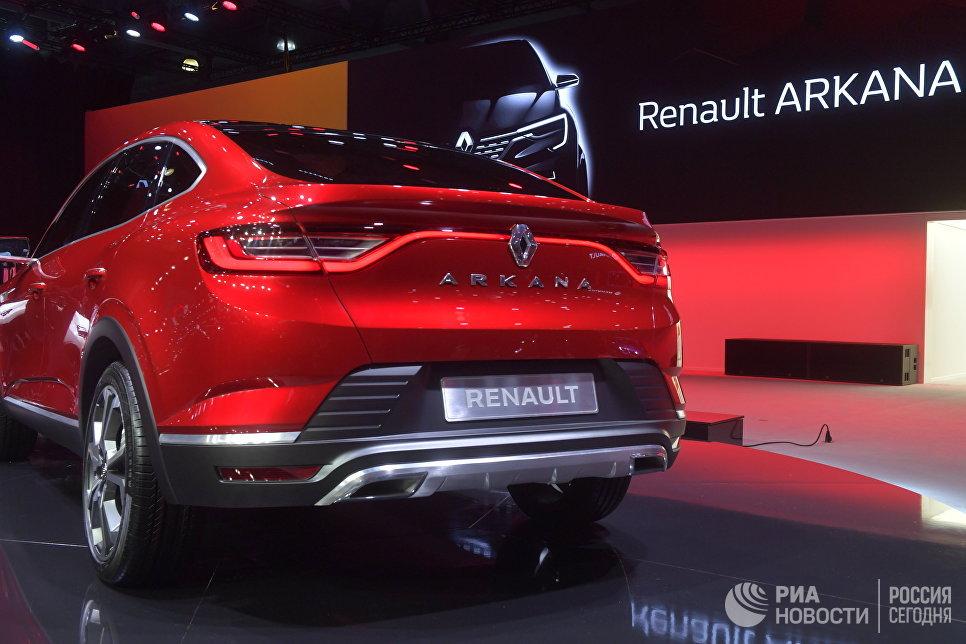 Renault показала новый кроссовер Arkana для России
