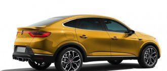 В Сети показали спортивную версию кроссовера Renault Arkana RS