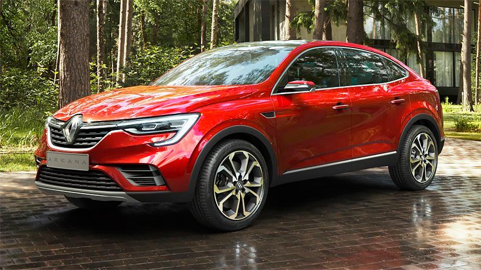 Renault Arkana 2019 - комплектации и цены