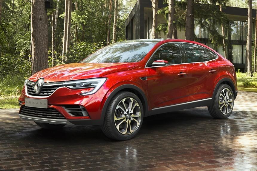 Новый кроссовер Renault Arkana понесет купеобразие в массы