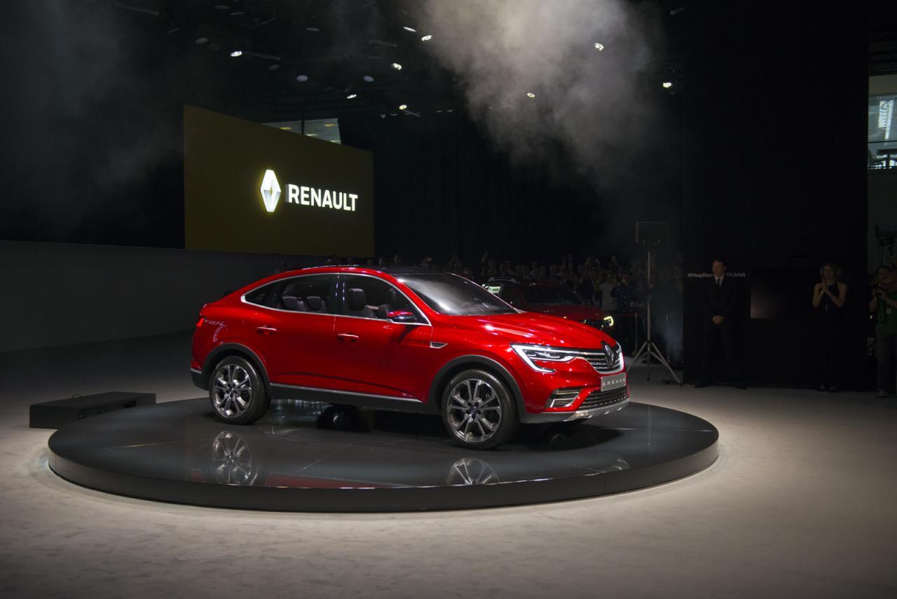 Renault будет продавать кроссовер Arkana в России через Интернет
