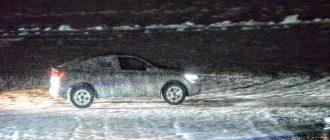 Renault Arkana проверили на льду Ладоги