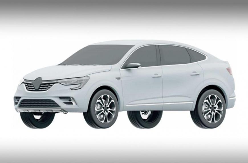 Внешность серийного кросс-купе Renault Arkana рассекречена