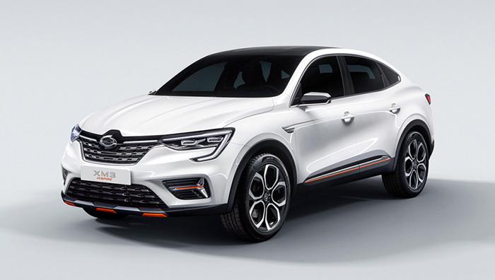 Перелицованное кросс-купе Renault Arkana представили в Сеуле