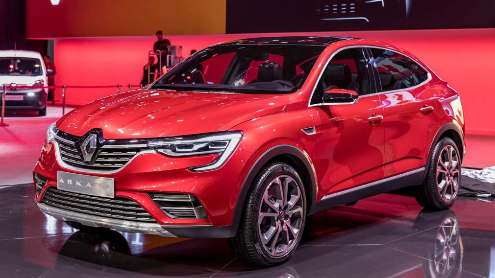 Купеобразный кроссовер Renault Arkana получит новый двигатель в России
