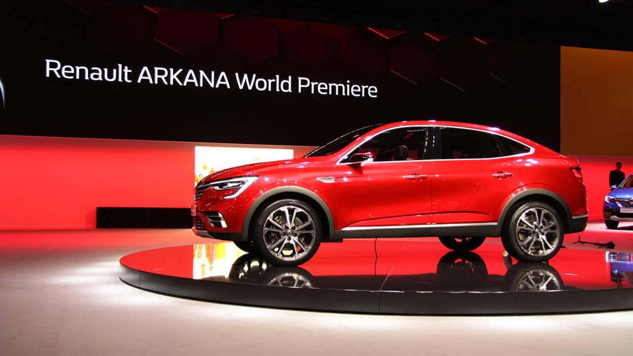 Renault Arkana получит мотор на 1,33 литра