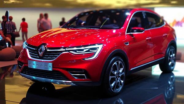 Renault рассекретила характеристики купе-кроссовера Arkana для РФ
