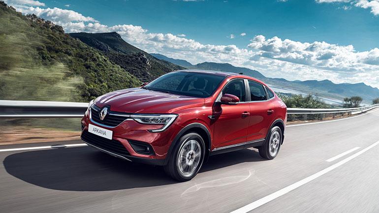 Renault Россия представляет совершенно новый купе-кроссовер ARKANA