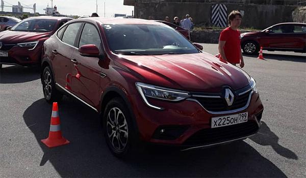 Названы все цены нового кросс-купе Renault Arkana для РФ
