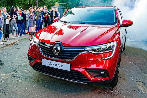 Теперь Renault Arkana стоит больше миллиона