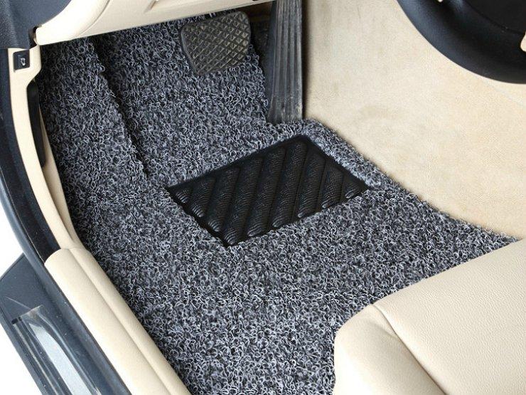 ворсистые коврики для авто